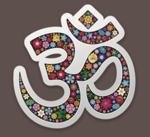 Om Aum Namaste Yoga Symbol  Kids Clothes