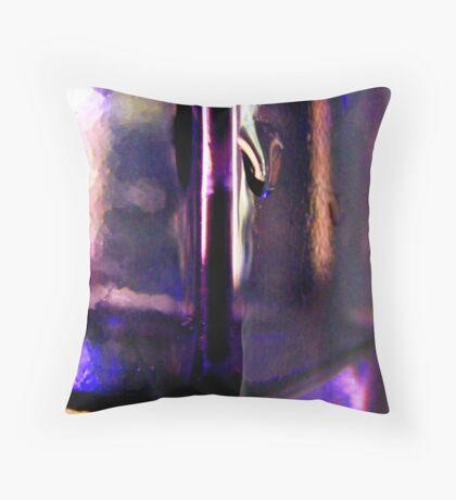 Iridescent Purple Throw Pillow