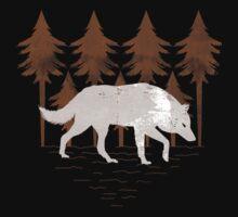White Wolf Baby Tee