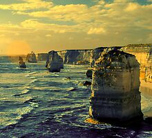 12 Apostle,Pt.Campbell,Victoria,Australia by Max R Daely