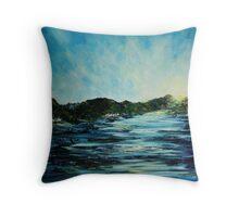 Loch's Edge Throw Pillow