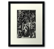 Catherine and the Wheel Framed Print