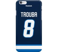 Winnipeg Jets Jacob Trouba Jersey Back Phone Case iPhone Case/Skin
