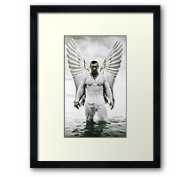 Angel of  Middle Earth Framed Print