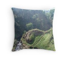 Lao hills Throw Pillow