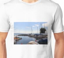 West Harbor of Hagnau - Lake Constance Unisex T-Shirt