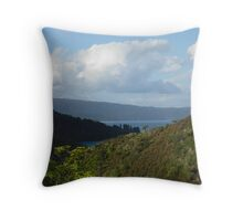 Moving Mountains Throw Pillow