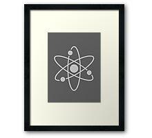Atom - Textured Framed Print