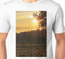 Flies in the Sunset - Lake Constance Unisex T-Shirt