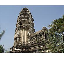 Temple in Thailand Photographic Print