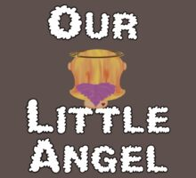 Our Little Angel Sitting on Cloud Strawberry Blonde Girl One Piece - Short Sleeve