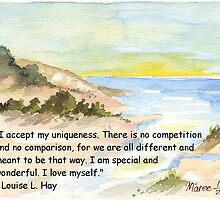 Affirmation to LOVE YOURSELF by Maree  Clarkson