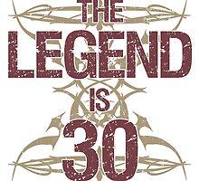 Men's Funny 30th Birthday by thepixelgarden