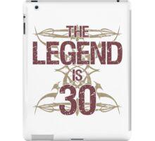 Men's Funny 30th Birthday iPad Case/Skin