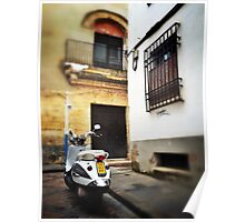 Cordoba scooter Poster