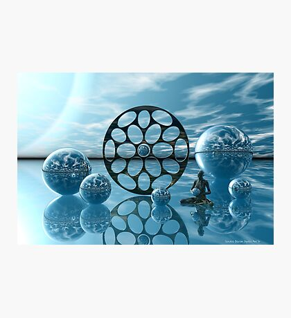 Zen Moment Photographic Print