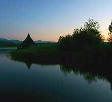Llangorse Lake - 10pm by David Meacham