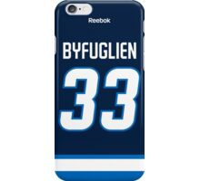 Winnipeg Jets Dustin Byfuglien Jersey Back Phone Case iPhone Case/Skin