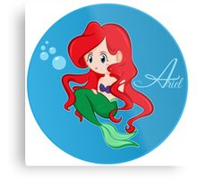 Princess Ariel Metal Print