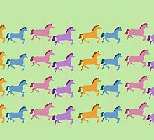 Merry-Go-Round Horses by Jessica Slater