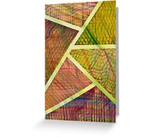 Abstract Paint Greeting Card