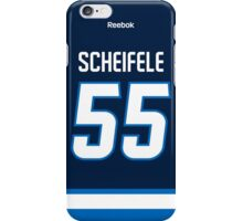 Winnipeg Jets Mark Scheifele Jersey Back Phone Case iPhone Case/Skin