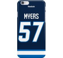 Winnipeg Jets Tyler Myers Jersey Back Phone Case iPhone Case/Skin