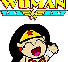 Wonder Woman! by MudkipDude