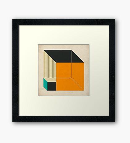 CUBES (14) Framed Print