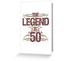 Men's Funny 50th Birthday Greeting Card