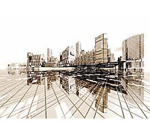 Poster-City 4 Photographic Print