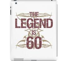 Men's Funny 60th Birthday iPad Case/Skin
