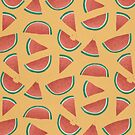 watermelon pattern by Tess Smith-Roberts
