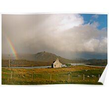 Rainbow, Balallan, Isle of Lewis Poster