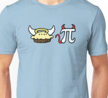 Angel Pie and Devil Pi Unisex T-Shirt