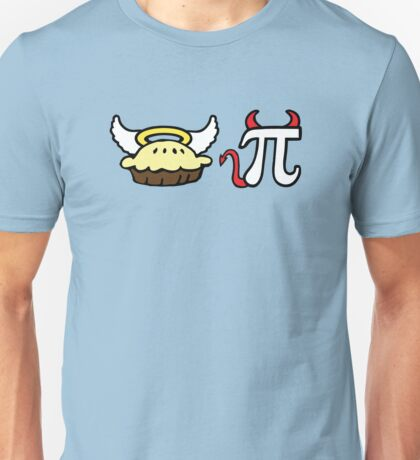 Angel Pie and Devil Pi Unisex T-Shirt