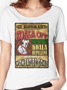 Koala Repellent Women's Relaxed Fit T-Shirt