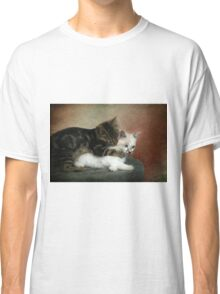 Kittens at play: Huggies and Pampers...  Classic T-Shirt