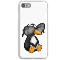 Penguin with Eyeglasses iPhone Case/Skin