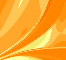 Abstract orange background by Laschon Robert Paul