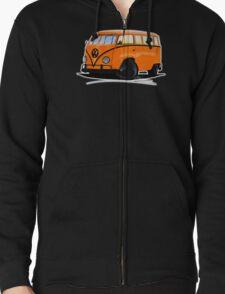 VW Splitty (15 Window) Camper (B) T-Shirt