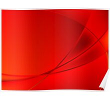 Abstract red background Poster