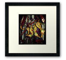 Ocean Invasion #4: Crystal Cave of the Landhorse Framed Print