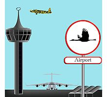 Airport concept Photographic Print