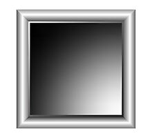 Aluminum photo frame by Laschon Robert Paul