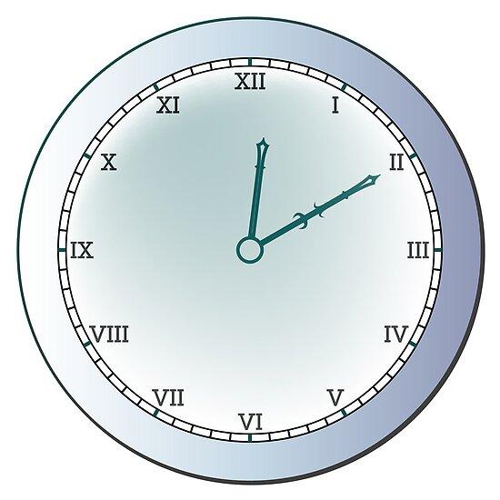 Ancient clock by Laschon Robert Paul
