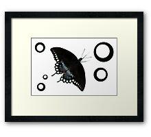 Spice Dots Framed Print