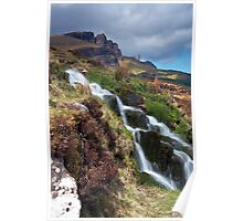 Storr and Falls Poster