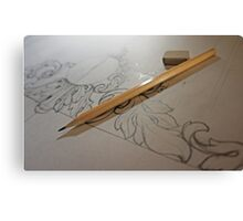 Sketch Canvas Print