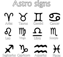 Astro signs by Laschon Robert Paul